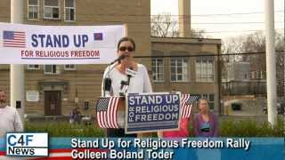 Goshen (NY) United States  City new picture : Stand Up for Religious Freedom Rally - Goshen,NY - Colleen Boland Toder