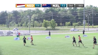 Download Lagu 2018 World Jr. Ultimate Championships | Game 5 - Women: Netherlands vs New Zealand | Aug. 19 Mp3