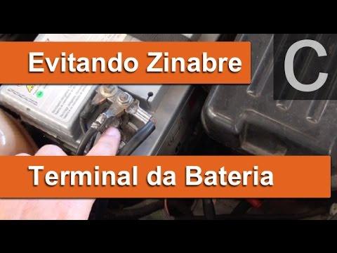 Dr CARRO Zinabre Terminal Bateria - Motivo e como evitar