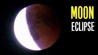 Полное лунное затмение 2018 - Кровавая полная Луна