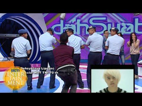 Joget Heboh Host Dahsyat Bersama Anggota TNI [Dahsyat] [7 10 2015]