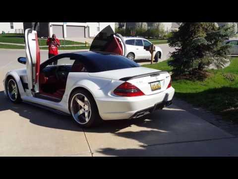 Mercedes amg Sl65 black series vad wheels