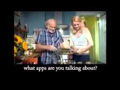 Grandpa vs iPad!!