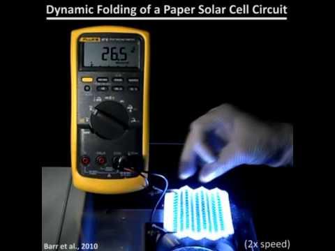Científicos Del MIT Logran Imprimir Celdas Solares