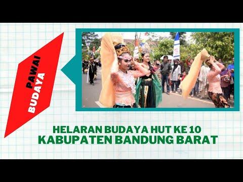 Helaran Budaya HUT ke 10 Kabupaten Bandung Barat
