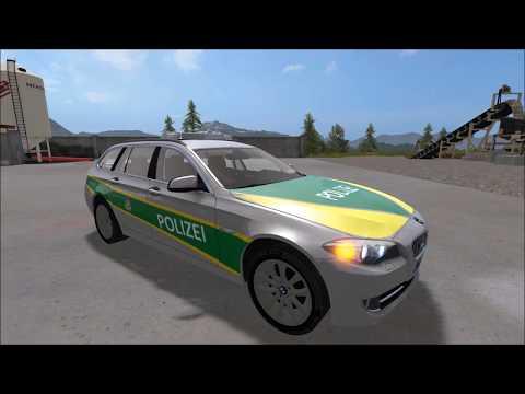 BMW 530 Polizei bayern v1.0