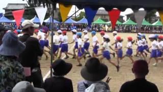 羽黒小学校運動会2午前1・競走競遊音遊