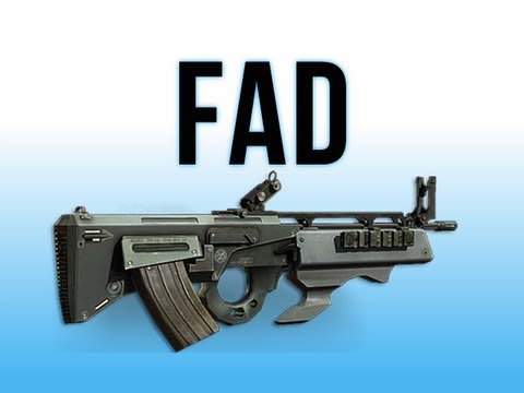 fad - Click here to watch MW3 In Depth - How do I XM25?: http://www.youtube.com/watch?v=9q3vAGwrDHQ In this episode I'm reviewing the very unusual FAD assault rifl...