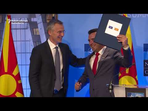 Macedonia And NATO Sign Deal On Accession Process