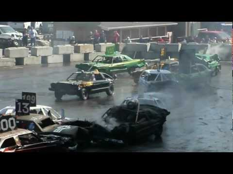 Slamfest Demolition Derby @ Puyallup Spring Fair 2012