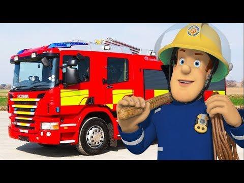 Brandweerman Sam Nederlands Nieuwe Afleveringen 🔥De verjaardag van Sam - Nieuw S 10 🚒Kinderfilms