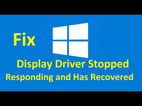 Display Driver Stopped Responding and Has Recovered!! Fix - Howtosolveit