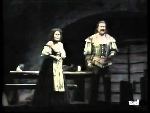 LUCIANO PAVAROTTI Storm Scene from Rigoletto Met 1991