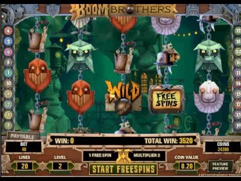 Boom Brothers Free spin game and win the Boom Brothers Slot Jackpot