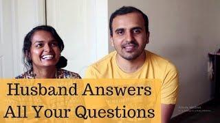 HUSBAND ANSWERS ALL YOUR QUESTIONS!!!   #QandA   Ranju N