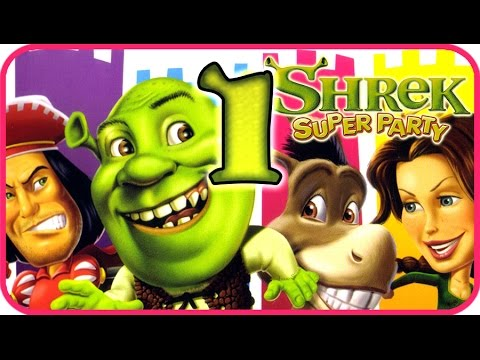 Shrek: Super Party Walkthrough Part 1 (PS2, XBOX, Gamecube)