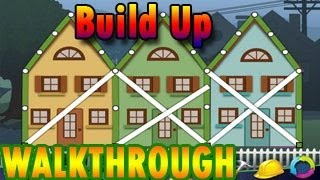 Build Up Walkthrough [ FULL, All Stars, All Levels 1-15 ]