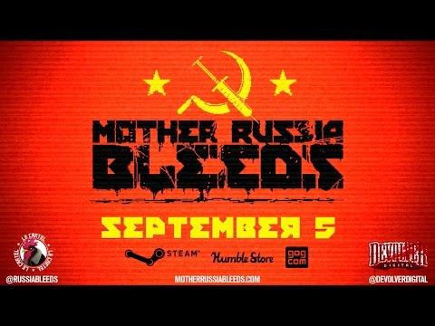 Обзор игры Mother Russia Bleeds: коммунистическое ультранасилие