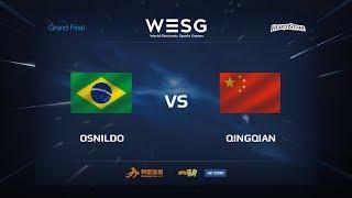 Osnildo vs DawnQingqian (水清浅), game 1
