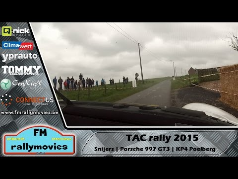 TAC rally 2015 | ONBOARD | Snijers - KP4 Poelberg [HD]