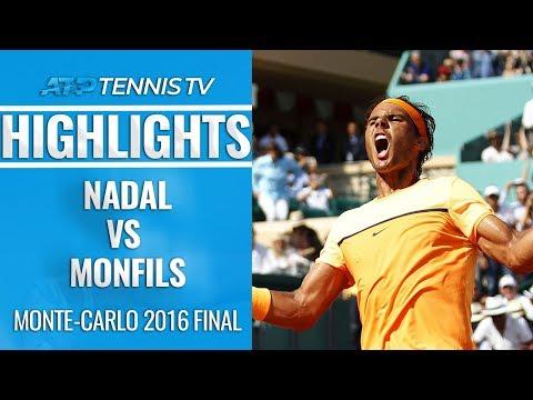 Nadal vs Monfils Monte-Carlo 2016 Final: Extended Highlights