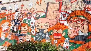 Kawaii Urban Doodles - The New World Disorder by Garbi KW