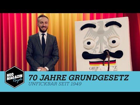 70 Jahre Grundgesetz | Neo Magazin Royale mit Jan Böhmermann - ZDFneo