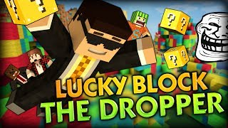 FUNNY TOILET TROLLING! - Minecraft Mods - Lucky Block THE DROPPER w/ BajanCanadian, ASFJerome