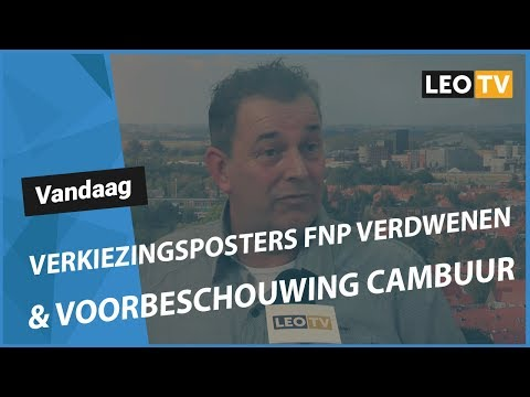 Ljouwert: It mystearje fan de ferdwûne ferkiezingspoosters