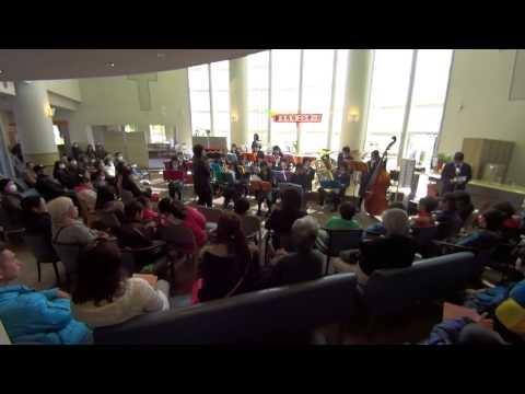 2014年3月8日 印西市立原山中学校 吹奏楽演奏 (サザンプラザ:春うららコンサート)