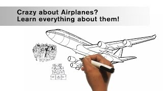 How do airplanes fly? | Whiteboard Animated Physics Video