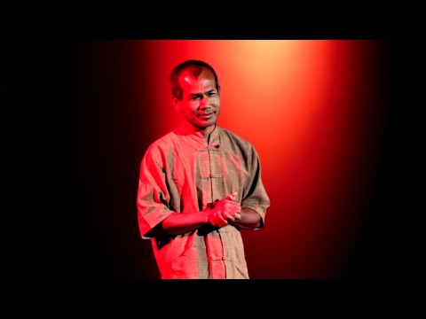 simple living - Jon is a farmer from northeastern Thailand. He founded the Pun Pun Center for Self-reliance, an organic farm outside Chiang Mai, with his wife Peggy Reents i...