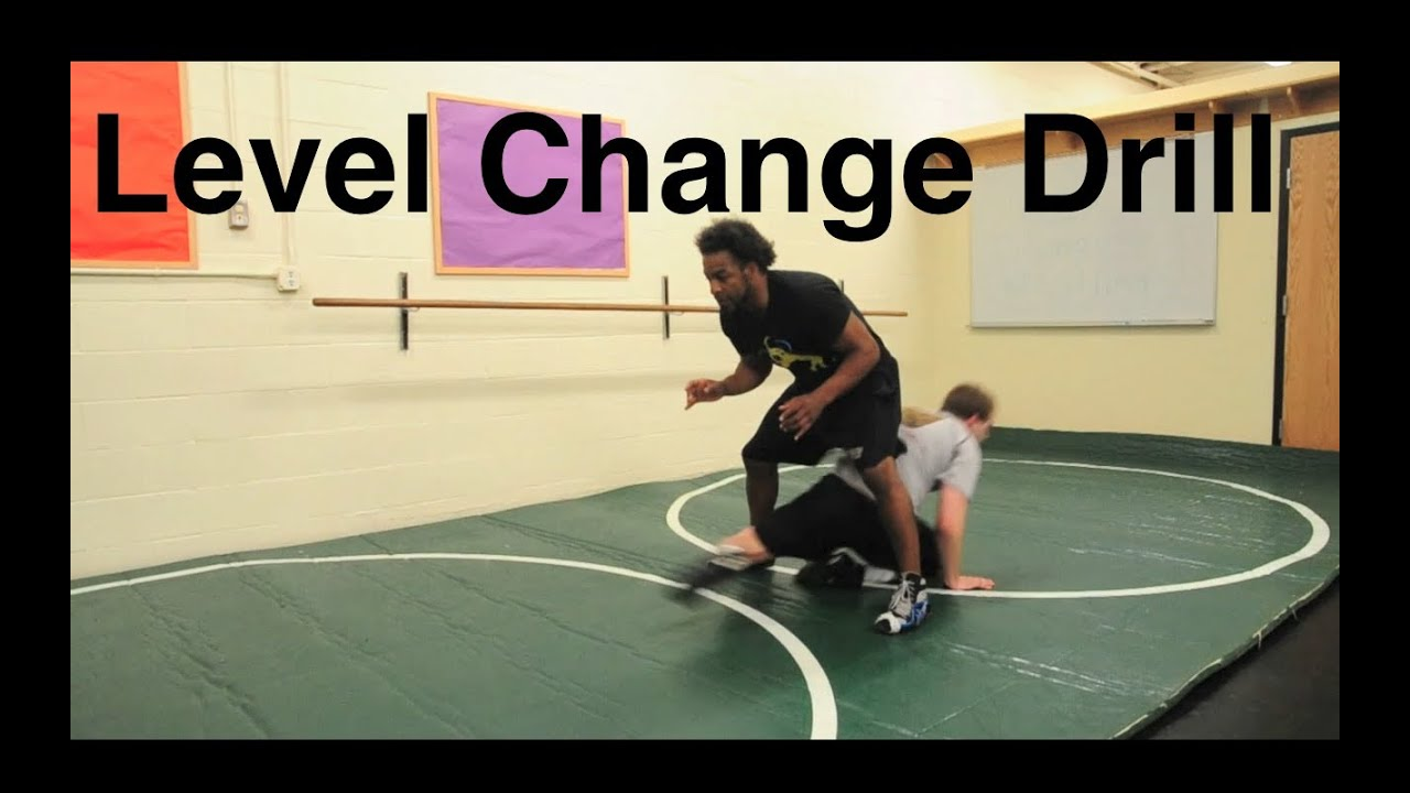 Level Change Shooting Drill, Good Wrestling Warm Up Drill: Wrestling Techniques