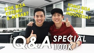 Video TOMO MALU SAMA KELAKUAN JEROME?! | Q&A Special 100k Subscribers (Eng sub) MP3, 3GP, MP4, WEBM, AVI, FLV April 2019