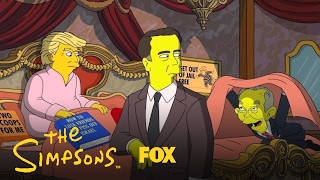 "Donald Trump makes one last try to patch things up with Comey.Subscribe now for more The Simpsons clips: http://fox.tv/SubscribeAnimationDominationWatch more videos from The Simpsons: http://fox.tv/TheSimpsonsSeason28PlaylistCatch full episodes now: http://fox.tv/TheSimpsonsFullEpsSee more of The Simpsons on our official site: http://fox.tv/TheSimpsonsLike The Simpsons on Facebook: http://fox.tv/Simpsons_FBFollow Homer on Twitter: http://fox.tv/Homer_TwitterFollow The Simpsons on Twitter: http://fox.tv/TheSimpsonsTWAdd The Simpsons on Google+: http://fox.tv/TheSimpsonsPlusWatch full episodes of The Simpsons: http://fox.tv/WATChthesimpsonsLike Animation Domination on Facebook: http://fox.tv/AnimationDomination_FBCheck out Animation Domination's Official Site: http://fox.tv/AnimationDominationLike FOX on Facebook: http://fox.tv/FOXTV_FBFollow FOX on Twitter: http://fox.tv/FOXTV_TwitterAdd FOX on Google+: http://fox.tv/FOXPlusTHE SIMPSONS continues to strike a chord with viewers for irreverently poking fun at anything and everything. As the longest-running scripted series in television history, THE SIMPSONS has become one of the most consistently groundbreaking, innovative and recognizable entertainment franchises throughout the world. With its subversive humor and delightful wit, the series has made an indelible imprint on American pop culture, and its family members – HOMER (Dan Castellaneta), MARGE (Julie Kavner), BART (Nancy Cartwright), LISA (Yeardley Smith) and MAGGIE – are television icons. Recently renewed for the unprecedented 28th season, THE SIMPSONS has won 31 Emmy Awards, a 2015 People's Choice Award and was nominated for an Academy Award in 2012 for the theatrical short ""The Longest Daycare."" The series recently received five 2015 Emmy Award nominations, including Outstanding Animated Program. ""The Simpsons Movie"" was a hit feature film; the mega-attraction ""The Simpsons Ride"" at Universal Studios has received historic expansion updates with the addition of Springfield added to the roster; and the show was honored with a star on the Hollywood Walk of Fame in 2000. It was named the ""Best Show of the 20th Century"" by Time magazine, and called the ""Greatest American Sitcom"" by Entertainment Weekly in 2013.125 Days: Donald Trump Makes One Last Try To Patch Things Up With Comey  Season 28  THE SIMPSONShttp://www.youtube.com/user/ANIMATIONonFOX"