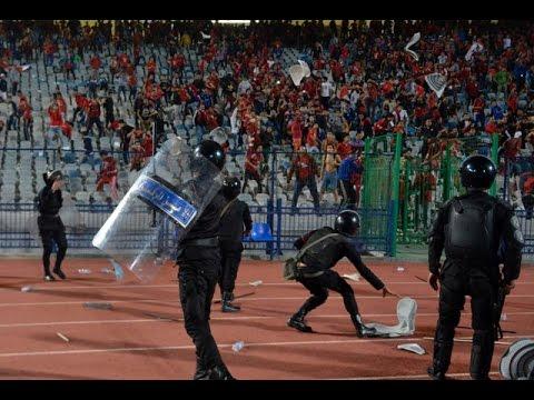 นองเลือด!บอลลีกอียิปต์แฟนบอลปะทะตร.ดับ20ศพ