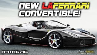 LaFerrari Convertible, Aston Martin Red Bull Hypercar, Rolls-Royce Phantom Teaser - Fast Lane Daily by Fast Lane Daily