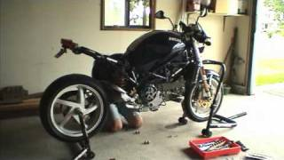 10. Installing a Quat-D Ex-Box exhaust on my Ducati Monster S4R