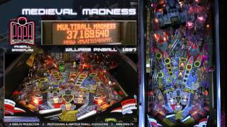 Medieval Madness Pinball Gameplay