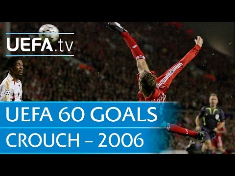 Peter Crouch V Galatasaray, 2006: 60 Great UEFA Goals