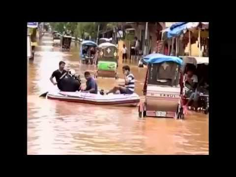 Monsoons submerge parts of India