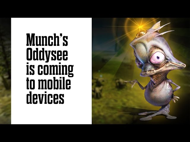 Munch's Oddysee is coming to mobile devices