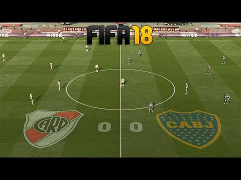 FIFA 18 | Boca Vs River - JUEGO COMPLETO | PC GAMEPLAY