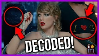 "Video Decoding Taylor Swift's ""Look What You Made Me Do"" Music Video MP3, 3GP, MP4, WEBM, AVI, FLV September 2018"