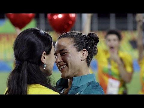 Ρίο 2016: Πρόταση γάμου στο γήπεδο του ράγκμπι!