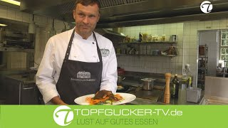 Rammenauer Karpfenteller | Zitronenkokosschaum | Süßkartoffelgemüsegröstel | Topfgucker-TV