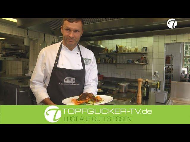 Rammenauer Karpfenteller   Zitronenkokosschaum   Süßkartoffelgemüsegröstel   Topfgucker-TV