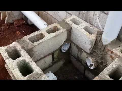 Building a House : Constructing an Inspection Chamber (Manhole) 1