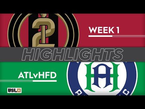 Atlanta United 2 - Hartford Athletic 2:0. Видеообзор матча 10.03.2019. Видео голов и опасных моментов игры