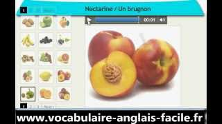 Vocabulaire Anglais Les Fruits (Vocabulaire Anglais Facile)